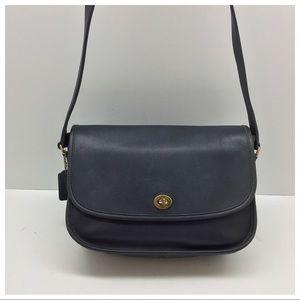 Vintage {Coach} Navy City Bag Crossbody